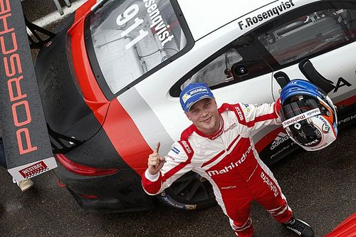 Felix Rosenqvist im Porsche Supercup