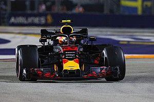 Red Bull volta a motor antigo e sofre punição na Rússia