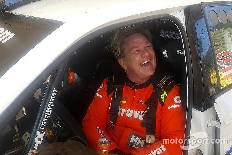 Henning Solberg i Jimmy McRae w Rally Pačejov