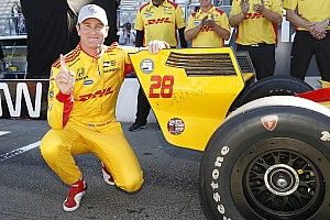 Sonoma IndyCar: Hunter-Reay grabs pole, O'Ward sensational fifth
