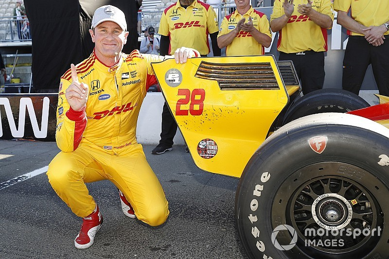 Sonoma IndyCar: Hunter-Reay grabs pole, O'Ward sensational fifth