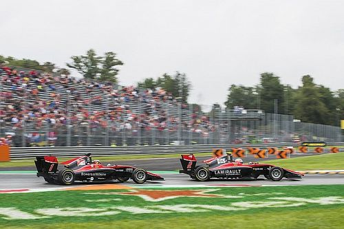 Hubert, Ilott thrown out of second Monza GP3 race