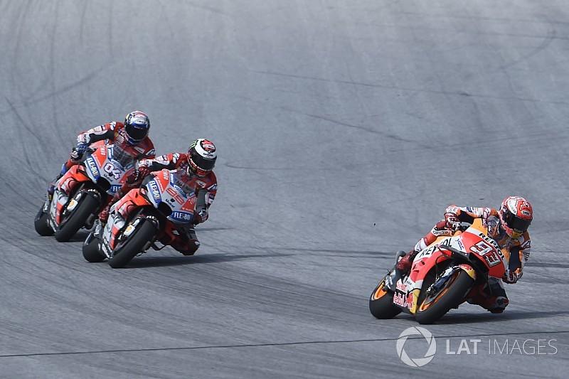 """Marquez: """"Il modo migliore di difendermi dai rivali sarà attaccare. Ma a Silverstone attenzione alle Ducati!"""""""