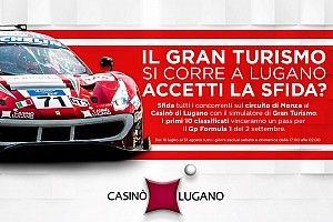 Im Casino von Lugano 10 Tickets für den GP von Italien der Formel 1