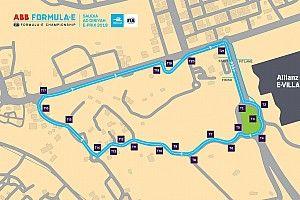 Организаторы показали конфигурацию трассы Формулы Е в Эр-Рияде