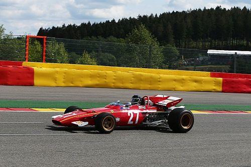 In beeld: Jacky Ickx in de Ferrari 312B