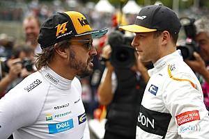 """Alonso vindt F1-exit Vandoorne spijtig: """"Een van de grootste talenten"""""""