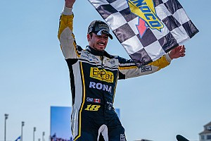 Alex Tagliani survives wild finish for Pinty's win in Toronto