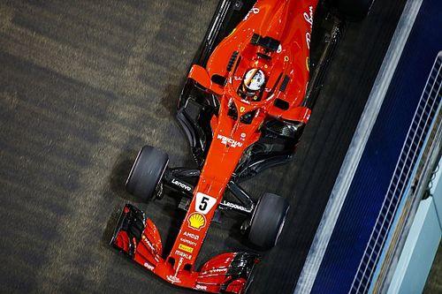"""Vettel: """"Abbiamo cercato di essere aggressivi, ma oggi la Ferrari non aveva il ritmo gara"""""""
