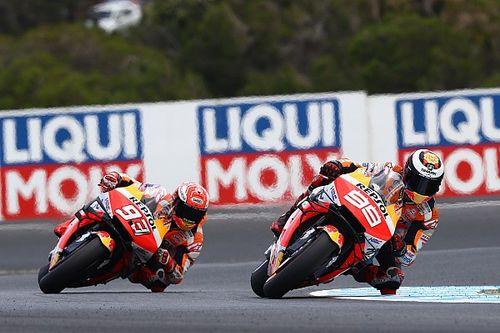 Lorenzo em baixa atrapalha planos da Honda na luta pelo título de equipes