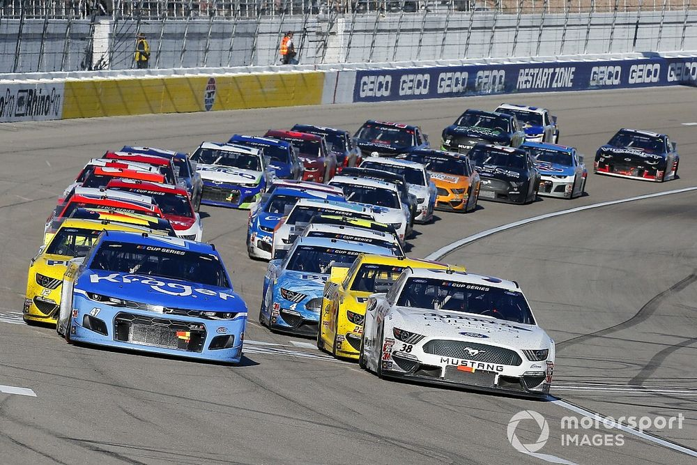 The challenges of NASCAR's plan to 'show up and you race'