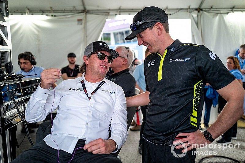 "Busch enjoys Rolex 24 debut, but ""too soon"" to speak of return"
