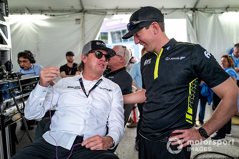 "Busch enjoys Rolex 24 debut, but ""too soon"" to speak of return"