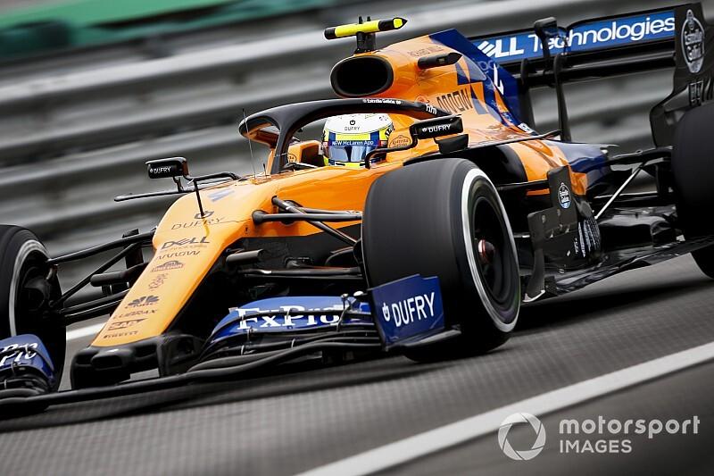 Norris szerint a McLaren jelenleg nem a 4. leggyorsabb csapat Brazíliában