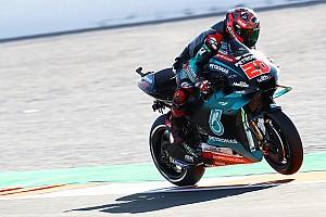Valencia MotoGP 2. antrenman: Quartararo lider, Rossi yine kaza yaptı