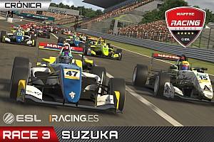 Tercer doblete de MSi en las ESL Mapfre Racing en Suzuka
