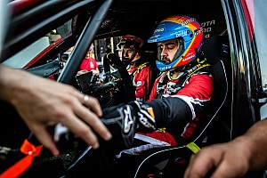 Alonso ha completato l'ultimo test in vista della Dakar 2020