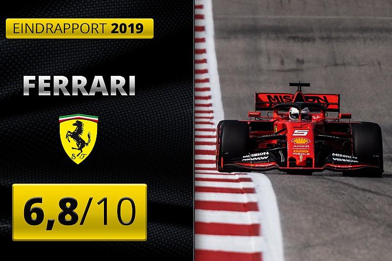 Eindrapport Ferrari: Volop commotie, maar weer geen hoofdprijs