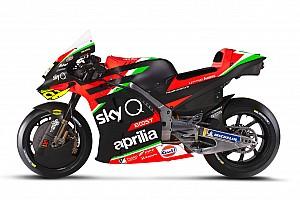 Fotogallery MotoGP: la livrea 2020 dell'Aprilia RS-GP
