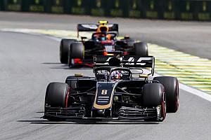 Un extraño problema con el MGU-K le costó el podio a Haas