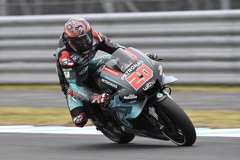 Motegi MotoGP: Quartararo beats Vinales in FP2