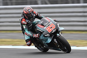 Motegi MotoGP: Quartararo beats Vinales in FP2
