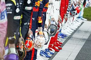 Vajon ki az az egyetlen F1-es versenyző, aki nevet a képen?