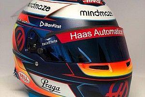 Grosjean a dévoilé son casque pour la saison 2020