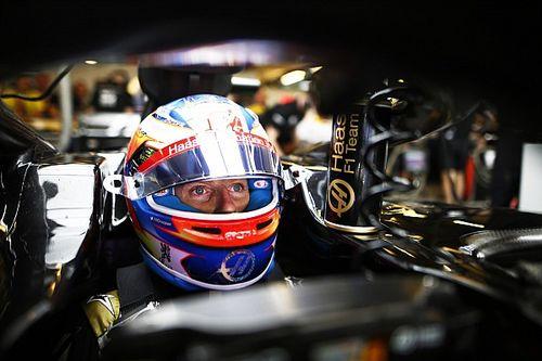 Grosjean en problemas por el choque con Bottas