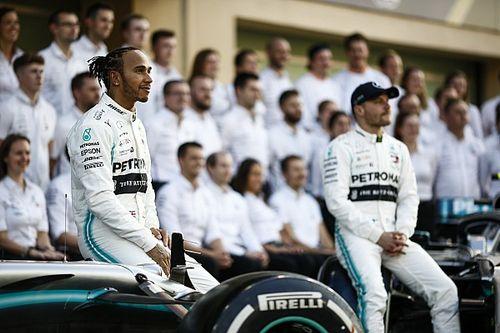 Qué ha aprendido Bottas de Lewis Hamilton
