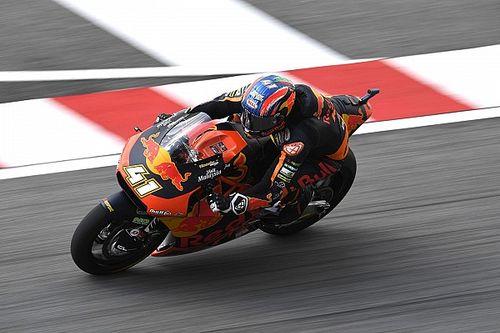 Moto2 Valencia: Binder aan kop na trainingen, P19 Bendsneyder