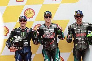 La parrilla de salida del GP de Malasia de MotoGP