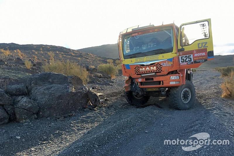 Zuurmond moet Dakar 2020 verlaten na aanrijding met rotsblok
