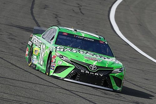 "Kyle Busch: ""We have a lot of work to do"" despite second-place"