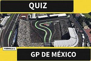 El súper quiz del GP de México de F1