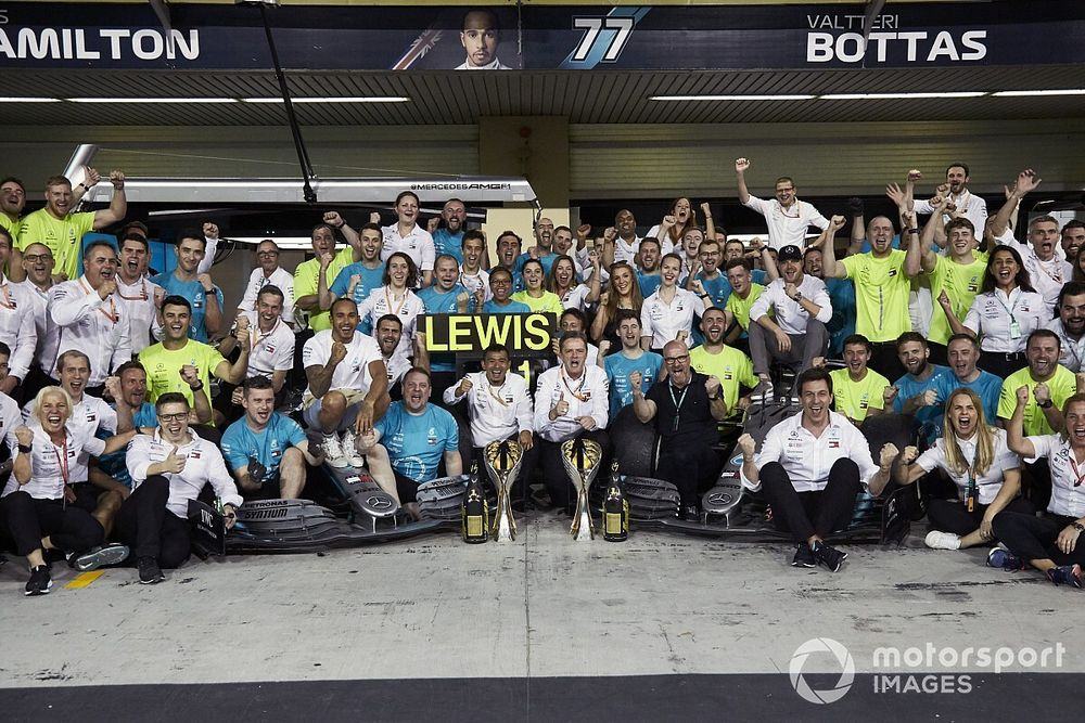 Wolff: Ce que Mercedes a accompli ne voudra rien dire en 2021