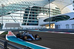阿布扎比测试首日:博塔斯最快,莱科宁遇引擎故障