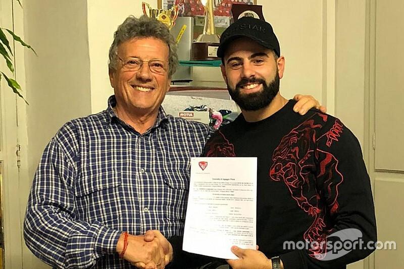 Nuova M2 Racing con Riccardo Russo al CIV Superbike