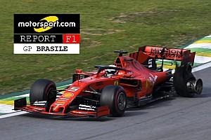 Report F1 Brasile: Vettel rompe l'armonia Ferrari
