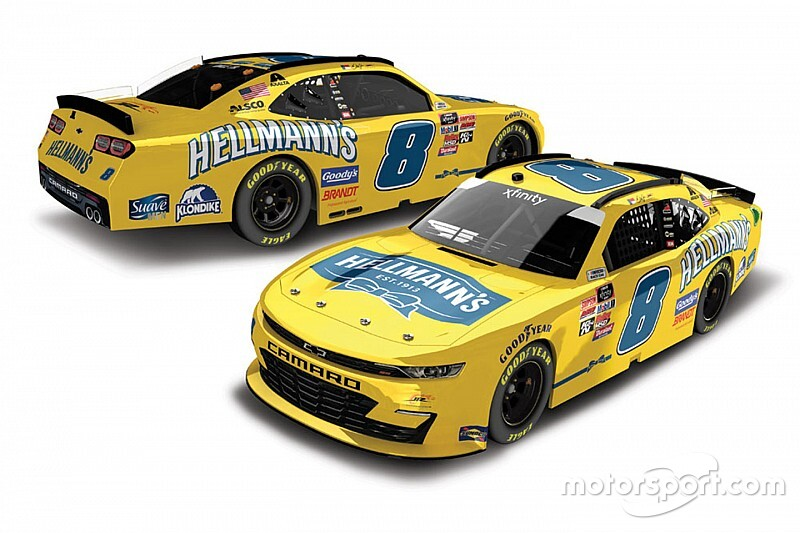 Dale Jr.'s paint scheme for Homestead Xfinity race revealed