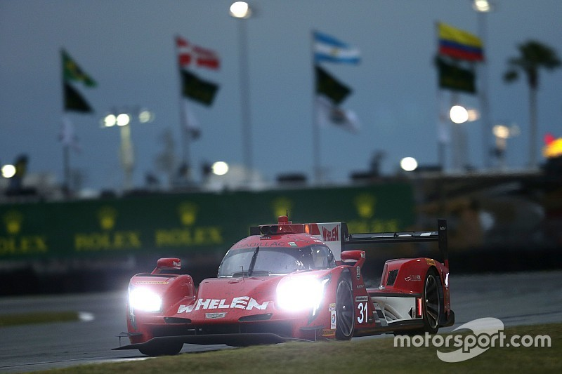 Daytona 24 Hours: Hr8 - Action Express Cadillac goes behind the wall