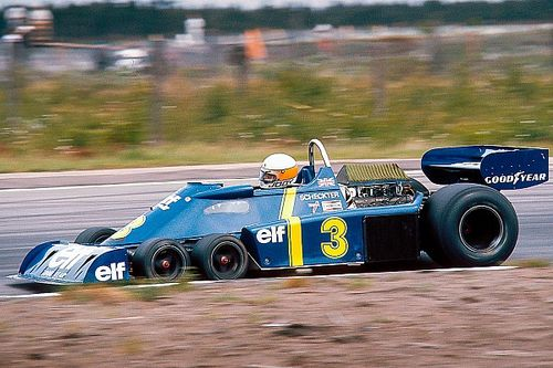 La Tyrrell P34, la spectaculaire F1 à six roues