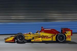 IndyCar Репортаж з тестів Хантер-Рей — найкращий на сповнених аваріями тестах IndyCar