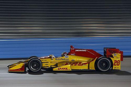 Hunter-Reay tops IndyCar's crash-filled test session