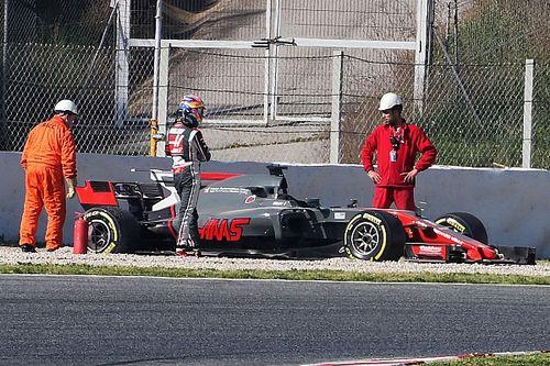 Csak az egyik Haasnak vannak fékproblémái!
