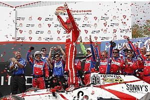 IndyCar Réactions Bourdais, une victoire sous forme de