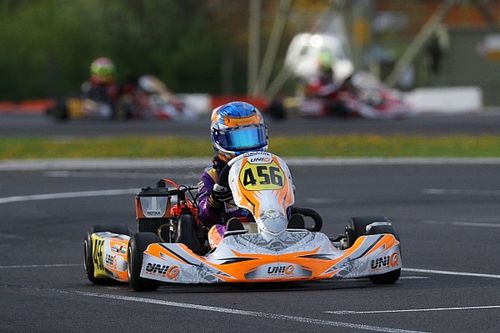 Mohsin scores first podium in European karting