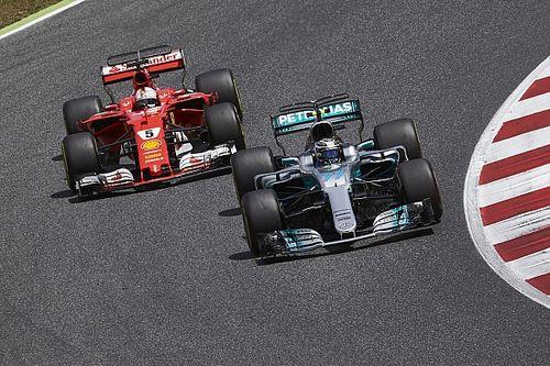 """Bottas: """"Zag het als mijn missie en taak om Vettel op te houden"""""""