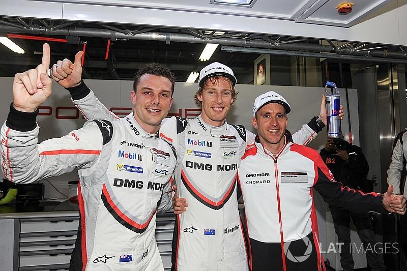 WEC Fuji: Hartley en Bamber scoren pole met Porsche