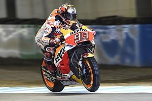 MotoGP Crónica de entrenamientos Márquez prolonga su dominio en el warm up en Motegi